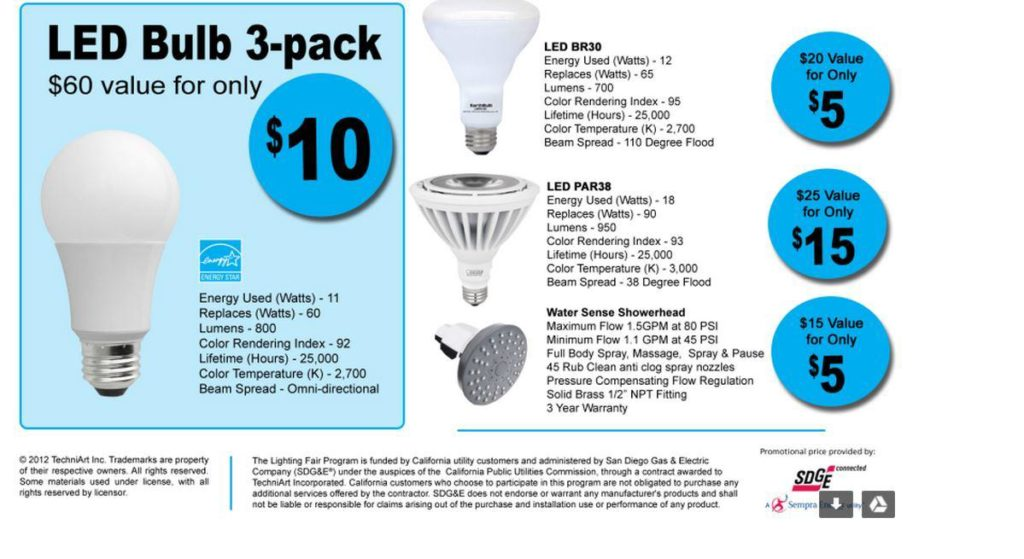 Led Bulbs A Very Bright Buy San Diego Consumers Action Network